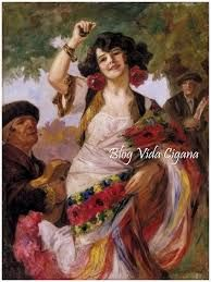 Resultado de imagen para dança cigana pinturas