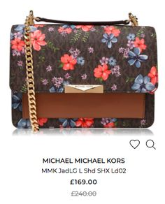 House Of Fraser, Bag Sale, Michael Kors Bag, Kate Spade, Floral, Bags, Florals, Handbags, Michael Kors Tote