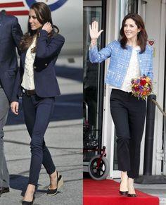 Duchess of Cambridge & Princess Mary of Denmark