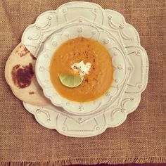 { Chipotle Sweet Potato Soup } | Love & Light Kitchen #Vegetarian #Vegan #SweetPotato #Soup #Chipotle