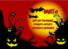 Un invito per una festa di Halloween da stampare