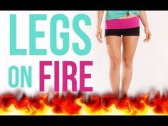Legs on Fire, Pop Pilates video. Pilates Video, Pop Pilates, Pilates Workout, Beginner Pilates, Pilates Training, Fitness Tips, Fitness Motivation, Sport, Cassey Ho