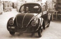 Beetle - VWs - View topic - found in Lithuania Van Vw, Kdf Wagen, Vw Vintage, Vw Beetles, Cool Cars, Antique Cars, Porsche, Type 1, Wwii
