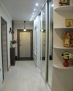 Длинный и очень удобный коридор