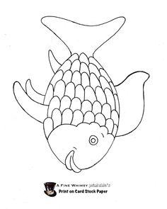 Rainbow fish lesson plan use this printout homeschool for Rainbow fish lesson plans