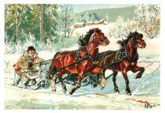 Andreas Bloch; vintermotiv ca.1895 (Handicapforbundet) (Annonse nr: 1251258 - www.GiBud.no)