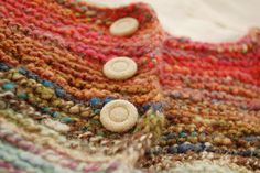 Handspun vest by apseed_blog, via Flickr.  I soooo want to knit this...