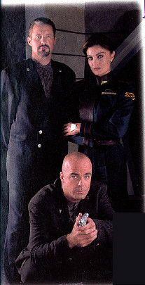 Babylon 5 - Sheridan, Lochley and Garibaldi