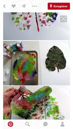 Beautiful STEAM leaf project for Exploring Creation with Botany! #art #kidscience #homeschool