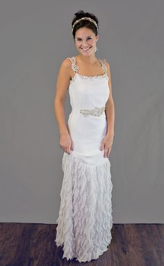 Vintage Inspired Wedding Dress   Gatsby by 27DressesDesigns, $950.00