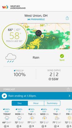 Ohio Weather, West Union, Weather Underground, Portsmouth, Cgi, Feelings
