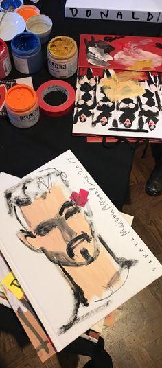 Donald Robertson-Fashion illustrator  painting photographer Frederic Aranda 15 Sept 2017- Maison Assouline Donald Robertson, Assouline, Illustrator, Adventure, Sweet, Christmas, Painting, Fashion, Candy