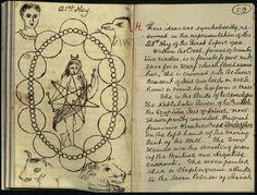 Magick notebook of William Butler Yeats (1865-1939)