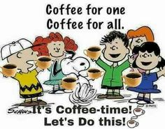 Snoopy coffee for all