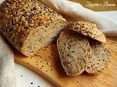 Pane cereali misti | Zenzero e Limone My Favorite Food, Favorite Recipes, Bread Recipes, Cooking Recipes, Pan Bread, Just Cooking, Italian Recipes, Food To Make, Bakery