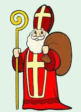 St Nicholas Day, Santa Pictures, Art For Kids, Diy And Crafts, Kindergarten, Saints, Clip Art, Drawing, Fictional Characters