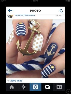 Love this nail idea!!