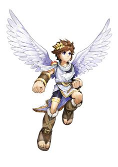 Kid Icarus Uprising Pit Cosplay Costume No Wings