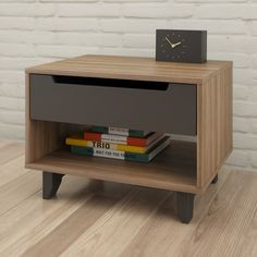 Shop Nexera  340142 Alibi 1-Drawer Nightstand at Lowe's Canada. Find our selection of nightstands at the lowest price guaranteed with price match + 10% off.