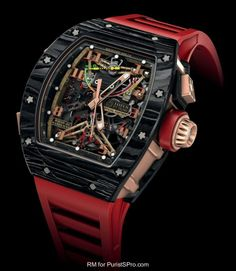 2014 Richard Mille RM50-01 R.GROS JEAN, NTPT carbon and red gold.