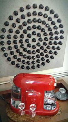 Nespresso, Coffee Pod Holder, Coffee Pods, Coffee Corner, Cloud, Diy And Crafts, 1, Kitchen Appliances, Crafty