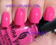 China Glaze Laced Up...favorite hot pink