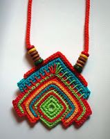 Tina's handicraft : 22 different designs for crochet necklace