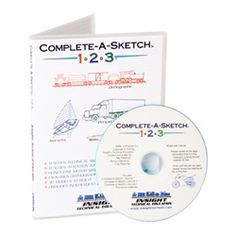 Complete-A-Sketch 123-CD $29.50
