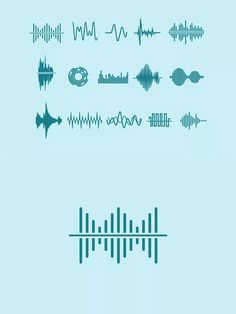 15 Audio Waveform Icons by creativevip on Envato Elements P Logo Design, Tool Design, App Design, Music Logo Inspiration, Waves Logo, Studio Logo, Design Research, Art Logo, Speech Recognition