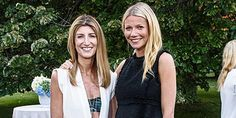 Gwyneth Paltrow and Chris Martin continued their post-split friendship at a Goop celebration http://peoplem.ag/2bMJTpL