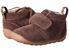Clarks Kids Tiny Hero (Infant/Toddler) Brown Suede - Zappos.com Free Shipping BOTH Ways