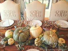 Rough Luxe 10 Rough Luxe Fall Tablescapes You Can Copy