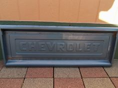 Tail Gate Party Vintage Car Parts 1957 chevrolet truck Tail Gate, Bed and Rails
