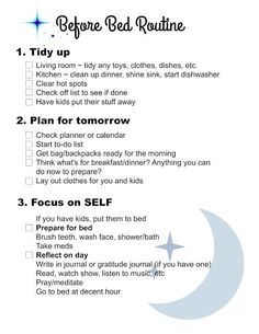 Before Bed Routine inspired by Flylady. FREE PRINTABLE for Night Time Routine Health Adults Health For Kids Health Kindergarten routine checklist routine daily routine schedule routine skincare routine weekly Flylady, Night Time Routine, Evening Routine, Skin Care Routine For 20s, Self Care Routine, Beauty Routine Checklist, Skincare Routine, Morning Routine Checklist, Beauty Routine Planner