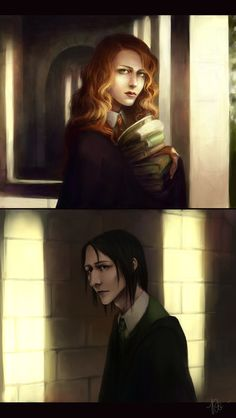 Something I Can Never Have by KarlaFrazetty on @deviantART    (Lily and Severus)