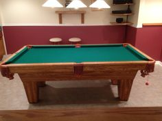 Lovely Brunswick Billiards Scottsdale 7u0027 Pool Table Excellent Condition.