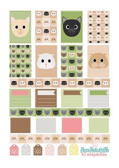"stickystickies | Free Printable Set ""Little Kittens"""