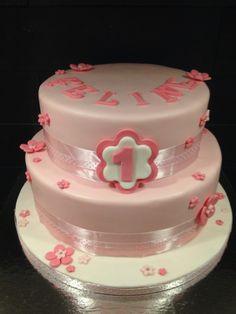 Roze taart, pink cake.