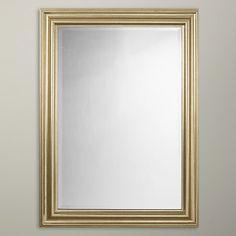 Buy John Lewis Wilde Mirror, 114 x 83cm, Gold Online at johnlewis.com