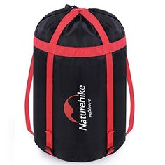 """Uarter Waterproof Compression Sack Sleeping Bag Pack Storage Bags for Camping Black. Material -- 300d oxford fabric,encryption nylon webbing. Compression BAG Size -- Full :14.04""""(H) , Diameter :9.36"""". Waterproof design keeps important items safe and dry,Sealing ring for protection from the water. Suitable for -- As sleeping bag compression bag,clothes trousers compressed storage bag , miscellaneously compressed storage bag , reduce backpack occupants space .make your journey more…"""