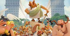 """Bis zum 8. März verlost Pointer zwei Fanpakete zu """"Asterix im Land der Götter"""". Gewinnen kannst du das Filmposter, zwei Kinotickets, einen Schlüsselanhänger und den Comic """"Die Trabantenstadt!"""""""