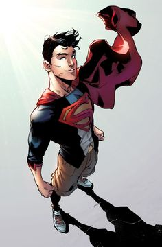 Superboy by jadecks on deviantART