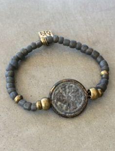"ICON Armband ""Symbol"", grey bei DEINLIEBLINGSLADEN"