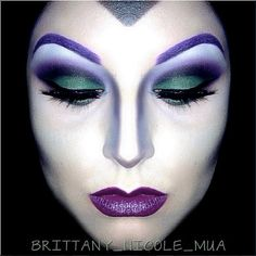 maleficent makeup. my evil queen alter ego.