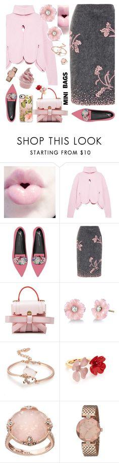"""Pink & Charcoal"" by petalp ❤ liked on Polyvore featuring Antonio Berardi, Giuseppe Zanotti, Prada, Niels Peeraer, Irene Neuwirth, Marni, Lavish by TJM, Disney, Casetify and polyvoreeditorial"
