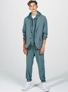 Nanamica SS17. menswear mnswr mens style mens fashion fashion style nanamica campaign lookbook