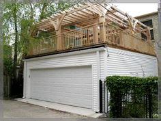 Best Plan 68436Vr Garage With Roof Top Deck In 2019 Mandi's 640 x 480