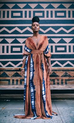 Africa Fashion 644296290429390847 - Africa is overflowing with patterns and prints that have become part of the fashion and architecture of today Editorial by on ______ African Print Dresses, African Fashion Dresses, African Dress, Fashion Outfits, Womens Fashion, Ankara Fashion, African Prints, African Fabric, Fashion Ideas