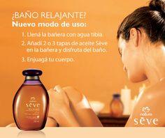 Tip de Baño relajante e hidratante. Natura Cosmetics, Tips, Soap, Bottle, Body Care, Herbs, World, Frases, Moisturizer