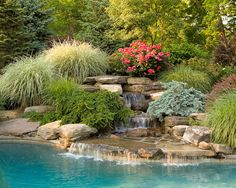 Basking Ridge Landscaping | Estate | Cording Landscape Design fantastic water feature!!